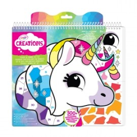 Crayola - ART SET STICKERS E NUMERI