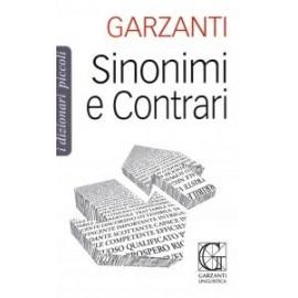 Libri GARZANTI - DIZIONARIO SINONIMI E CONTRARI
