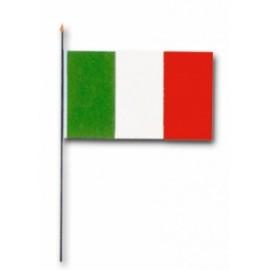 BANDIERA PICCOLA ITALIA 10x15cm