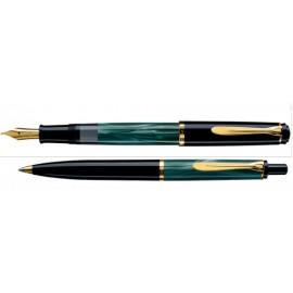 Penna Classic verde marmorizzato