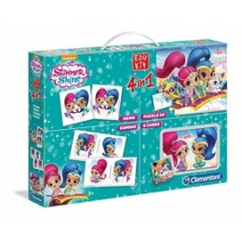 Giochi EDU KIT 4 IN 1 SHIMMER SHINE