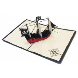Biglietti Origami VELIERO PIRATA
