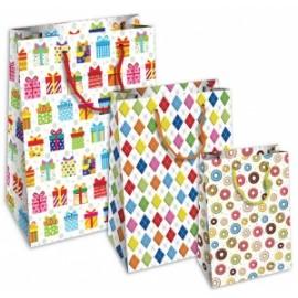 Shopper Carta 21x25x11 HAPPY conf.10pz