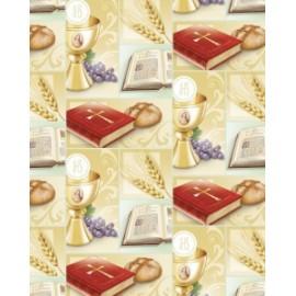 Carta Regalo 70x100cm COMUNIONE conf.12pz