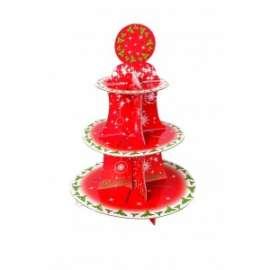 *OFFERTA Party Natale ALZATINA PER DOLCI h.40cm conf.1pz