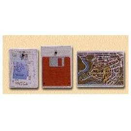 BUSTA PVC Snap1 P/Documenti  con  BOTTONE  conf.10pz - 8x12  -100500686-