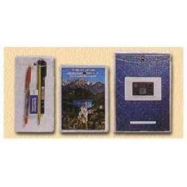 BUSTA PVC Snap5 P/Documenti  con  BOTTONE  conf.10pz - 13x18  -100500690-