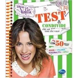 Libri WALT DISNEY - VIOLETTA. TEST E CONDIVIDI