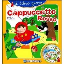 Libri EDIZIONI DEL BORGO - LIBRO GIOCO DI CAPPUCCETTO ROSSO
