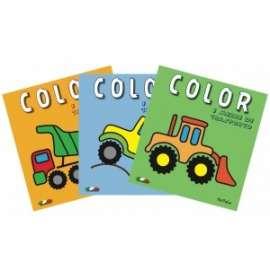 Libri da colorare I MEZZI DI TRASPORTO