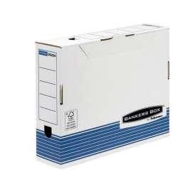 Scatola archivio dorso 80mm Bankers Box System