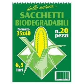 Sacchi biodegradabili per rifiuti umidi