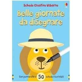Libri USBORNE - BELLE GIORNATE DA DISEGNARE - WATT FIONA; FIGG NON