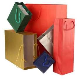 Shopper regalo assortimento 6 colori