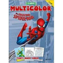 Libri WALT DISNEY MARVEL - MULTICOLOR. SPIDERMAN