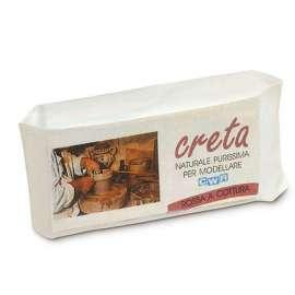 Creta Naturale per modellare Panetto 1 Kg
