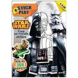Libri WALT DISNEY - STAR WARS. STICK & PLAY