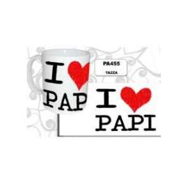 Festa del Papà TAZZA I LOVE PAPI
