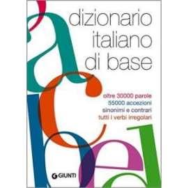 Libri GIUNTI - DIZIONARIO ITALIANO DI BASE