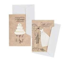 Biglietti Matrimonio CLASSICI WHITE conf.12pz