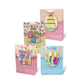 Shopper Carta 74x55x29 HAPPY BIRTHDAY