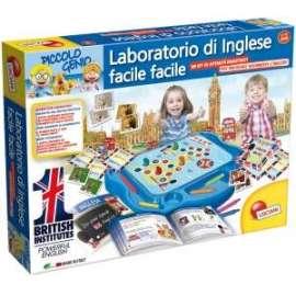 *OFFERTA Giochi PICCOLO GENIO - IL MIO PRIMO LABORATORIO DI INGLESE 5-8 anni