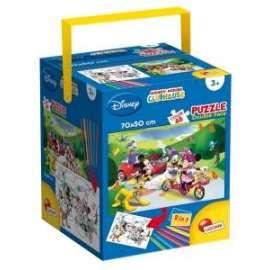 *OFFERTA Giochi PUZZLE - MAXI 48 - MICKEY MOUSE IN FUSTINO