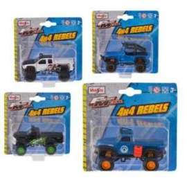 Giochi MAISTO - ASSORTIMENTO FRESH 4X4 REBELS 1:64