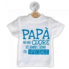 Festa del Papà MINI MAGLIETTA C/FRASE