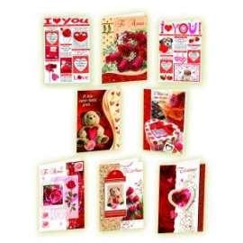 Biglietti San Valentino FANTASIA AMORE conf.12pz