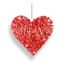 San Valentino CUORE LEGNO GRANDE