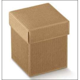 Magic-Box SCATOLA CUBO ONDA AVANA 5x5x5cm