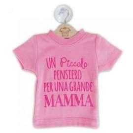Festa della Mamma MINI MAGLIETTE C/FRASE