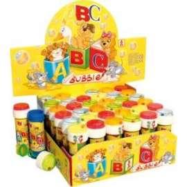 Giochi BOLLE SAPONE ABC 60ml conf.36pz