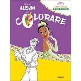 Libri WALT DISNEY - PRINCIPESSA RANOCCHIO PRIMO ALBUM DA COLORARE
