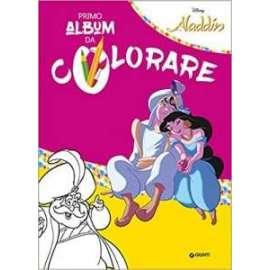 Libri WALT DISNEY - ALADDIN PRIMO ALBUM DA COLORARE