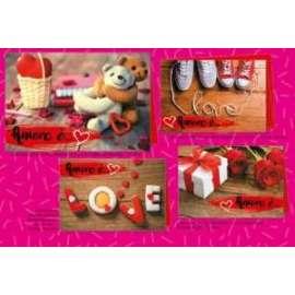 Biglietti San Valentino I LOVE YOU conf.12pz