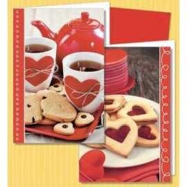 Biglietti San Valentino DOLCE AMORE conf.12pz
