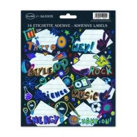 Etichette Segnanome BOYS conf.2fg 16 etichette