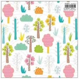 Carta Regalo 70x100 BOSCO COLORATO conf.10fg