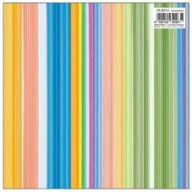 Carta Regalo 70x100 RIGHE COLORATE conf.10fg
