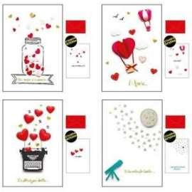Biglietti San Valentino LOVE conf.12pz