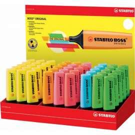 Evidenziatore STABILO BOSS® ORIGINAL in espositore 45 colori