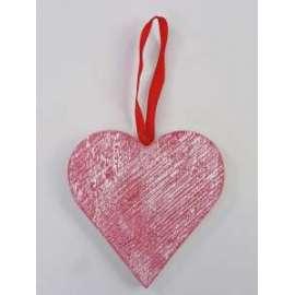 San Valentino CUORE IN LEGNO 18cm