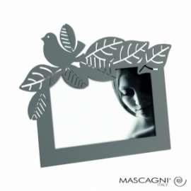 Mascagni - CORNICE COLOR GRIGIO METALLO 10x15cm