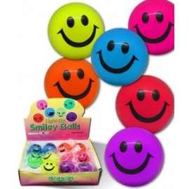 PALLINA RIMBALZINA SMILE C/LUCE diam.7,5cm conf.12pz