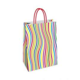Shopper Carta 23x29x10 RIGHE conf.10pz