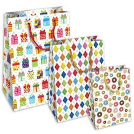Shopper Carta 20x25x11 HAPPY conf.10pz