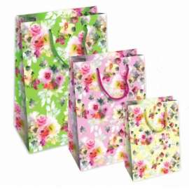 Shopper Carta 21x25x11 FIORI conf.10pz