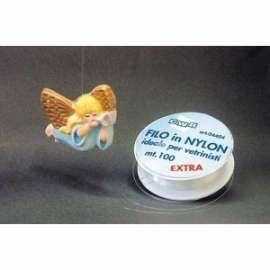 DECOUPAGE FILO NYLON 0,40 ROCCHETTO 100mt